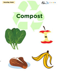 Recycling Compost Poster:  PAGES 1