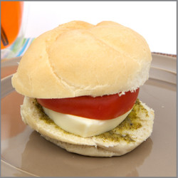 Mozzarella and Cheese Sandwich Visual Recipe And Comprehension Sheets: Pages 21