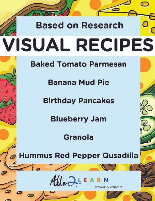 Free 5 Visual Recipes Using Sentences And Language