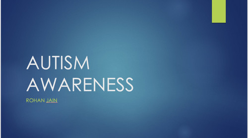 Autism Awareness Presentation: Pages 9
