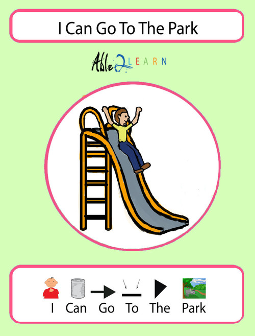 picture about Free Printable Social Stories for Preschoolers named Totally free I Can Transfer In direction of The Park Social Tale: