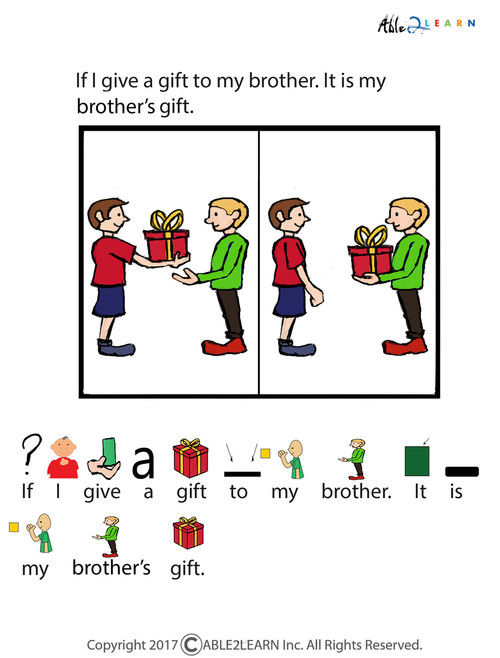 photograph regarding Free Printable Social Stories Worksheets titled Free of charge What Is A Present Social Tale:
