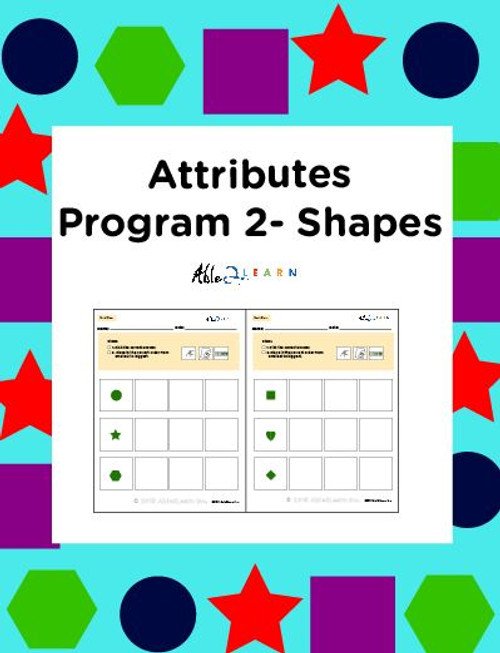Learn About Attribution With Shapes: Seriation:  Pages 8