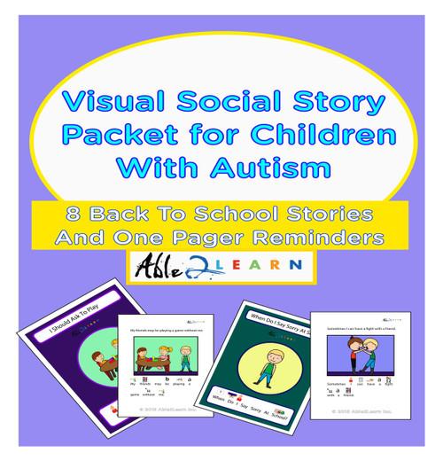 8 School Behaviour Social Stories Mega Pack: Pages 81
