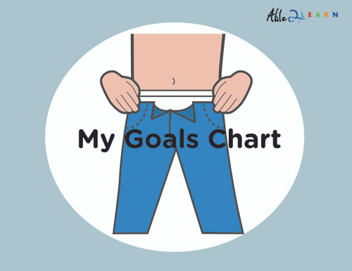 My Washroom Goals Chart: TOILET TRAINING: PAGES 11