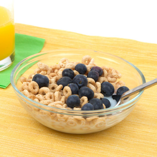 Cereal of Blueberries Recipe- Pages 18