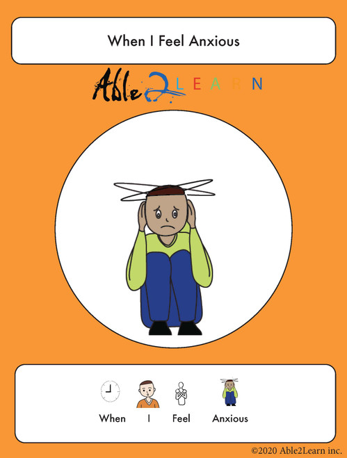 free social story_able2learn_i when I feel anxious 3 _autism_autism and health_free Aba resources_free printable