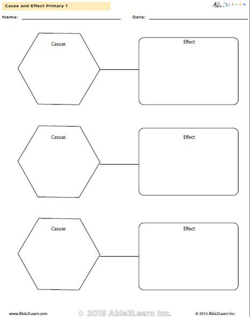 Cause and Effect Primary 1