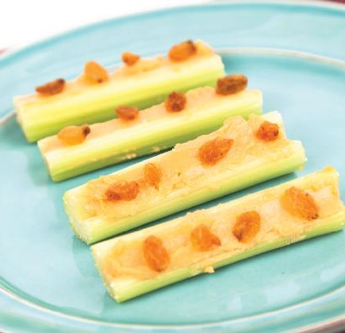 Celery & Cheese Sauce with Raisins Recipe And Comprehension Sheets: Pages 19-( Lv 1)