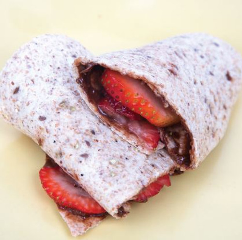 Chocolate Spread and Strawberry Wrap Visual Recipe  & Comprehension Sheets: 18 Pages