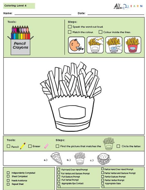 Colouring Program Level 4b - 10 Pages