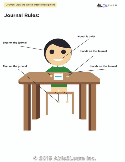 How to Sit at Your Desk for Boys