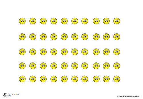 Token Board - My Smiley Face Weekly Reward Chart: Pages 2