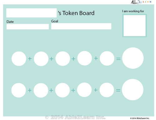 Money Token Board - Adding Nickels: No Visual Support B: 2 Pages