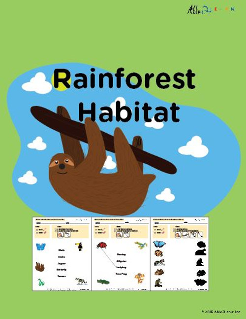 Learn About Habitats: Rainforest:  PAGES 67