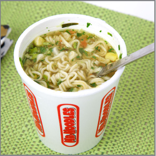 Instant Noodles Visual Recipe With Comprehension Sheets: 21 Pages