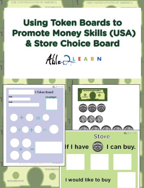 American Money Token Boards: Learn Money & Receive Rewards 42 Pages