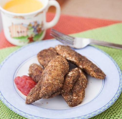 Gluten Free Chicken Strips Visual Recipe And Comprehension Sheets: Pages 30