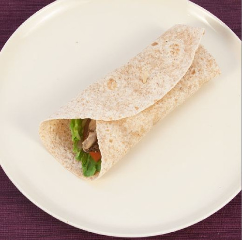 Chicken Lettuce Tomato Wrap Visual  Recipe And Comprehension Sheets: Pages 30