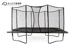 AlleyOOP 10'×17' Rectangular Trampoline with Enclosure