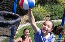 """The Touch Trampoline Basketball – 7"""""""