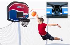 JumpSport Classic ProFlex Trampoline Basketball Set