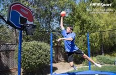 JumpSport Classic ProFlex Basketball Set For Trampolines