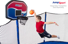 JumpSport Classic ProFlex Basketball Set For Trampolines