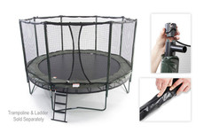 Octagon Kit for JumpSport Classic & AlleyOOP Trampoline Enclosures