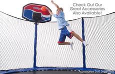 Model 280 Trampoline Safety Net Enclosure