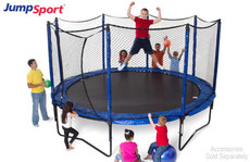 Model 480 Trampoline Safety Net Enclosure