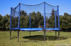 Model 380 Trampoline Safety Net Enclosure