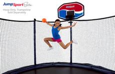 JumpSport Elite ProFlex Basketball Set For Trampolines