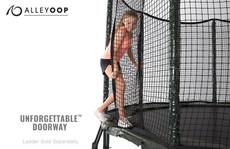 AlleyOOP 12' Trampoline with Enclosure net