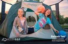 AlleyOOP 12' Trampoline with Enclosure camping
