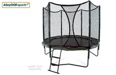 Original Springs AlleyOOP 10' Trampoline with Enclosure