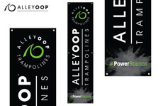 AlleyOOP Black Tall Banners