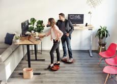 AlleyOOP Wood Rocker Board in your office