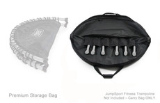 "Storage & Carry Bag for Half-Fold 44"" JumpSport Fitness Trampolines – Premium"