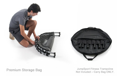 Storage & Carry Bag for Half-Fold JumpSport Fitness Trampolines - Premium