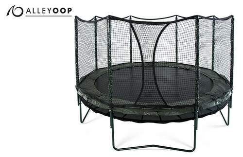 AlleyOOP DoubleBounce 14' Trampoline with Enclosure