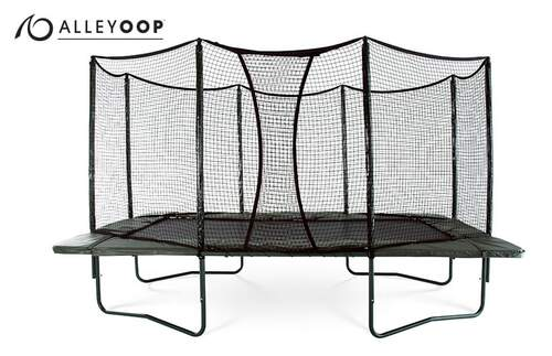 AlleyOOP 10'×17' Rectangular Trampoline with Enclosure product image