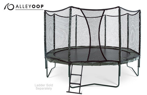 AlleyOOP 14' Trampoline with Enclosure product image