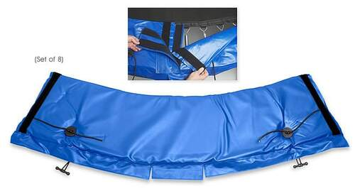 Standard Universal Trampoline Frame Pad – Blue product image