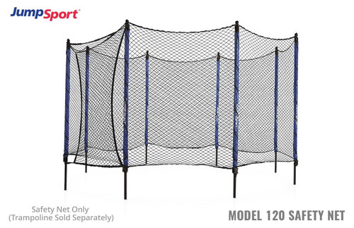 Model 120 Trampoline Safety Net Enclosure
