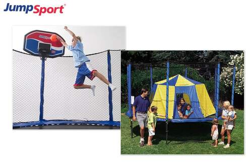 Summer Fun Pack - Trampoline Basketball Hoop & Tent product image