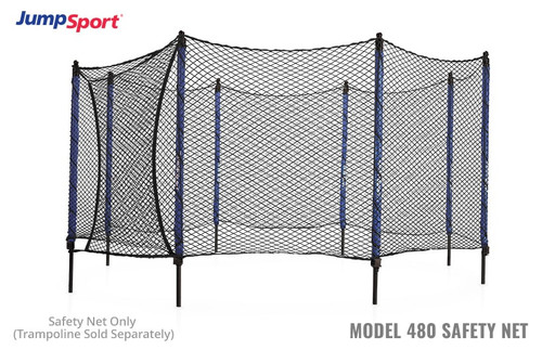 Model 480 Trampoline Safety Net Enclosure product image