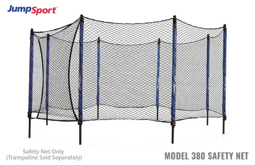 Model 380 Trampoline Safety Net Enclosure