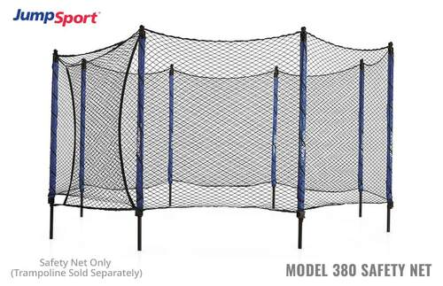 Model 380 Trampoline Safety Net Enclosure product image