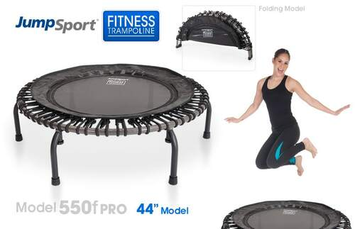 "Model 550f (folding) PRO Fitness Trampoline (44"")"